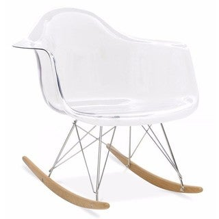 Clear Eiffel Rocking Chair
