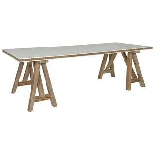 Safavieh Couture High Line Collection Kirby Natural/ White Pine Dining Table