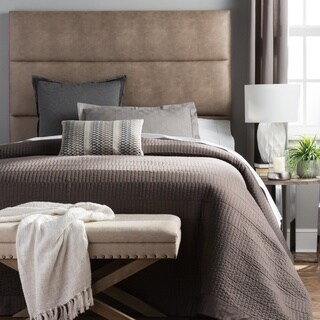 Humble + Haute Hereford Pebbled Beige Upholstered Headboard