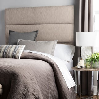 Humble + Haute Hereford King Size Textured Grey Upholstered Headboard