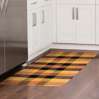 WH Chindi Plaid Accent Area Rug - 27x45