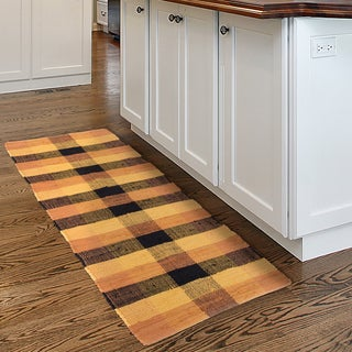Windsor Home Chindi Plaid Accent Area Rug - 2x5