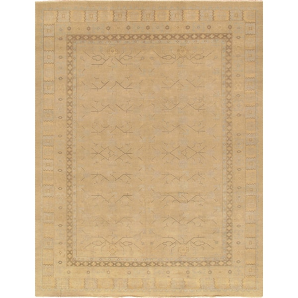 Pasargad Khotan Persian Wool Area Rug 8 X10: Shop Pasargad Khotan Collection Hand-knotted Beige Wool