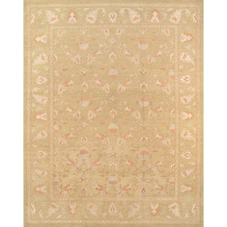 Pasargad Khotan Collection Camel Hand-knotted Lamb's Wool Rug (9' 4 X 12' 0)