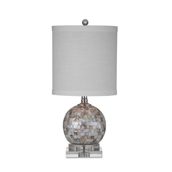 Dania 24 inch brown mother of pearl table lamp free shipping today dania 24 inch brown mother of pearl table lamp aloadofball Choice Image