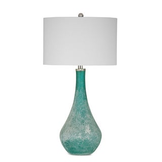 Maggiore 31-inch Blue Glass Table Lamp
