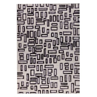 M.A.Trading Hand Woven Fermont Grey (5'x8') (India)
