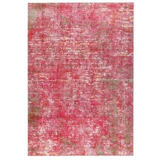M.A.Trading Hand Woven Akron Red (5'x8') (India)