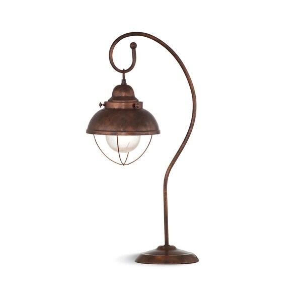 Alleghany 26-inch Brown Metal Table Lamp