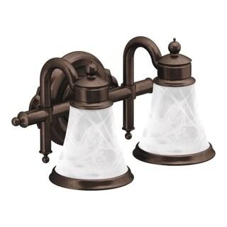 Moen Waterhill Oil Rubbed Bronze Bath Lighting, Oil Rubbed Bronze