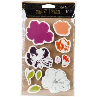 "Prima Cling Stamps 4""X6""-Fragrant Flora"