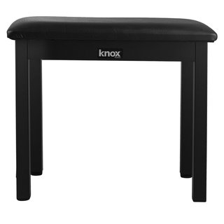 Knox KN-MB02 Full-Size 19-Inch Piano Bench (Black)