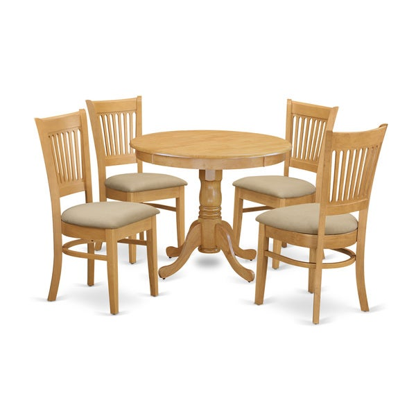 5 Piece Dining Room Sets Amazon Com: Shop 5-piece Dining Room Set In Oak Finish