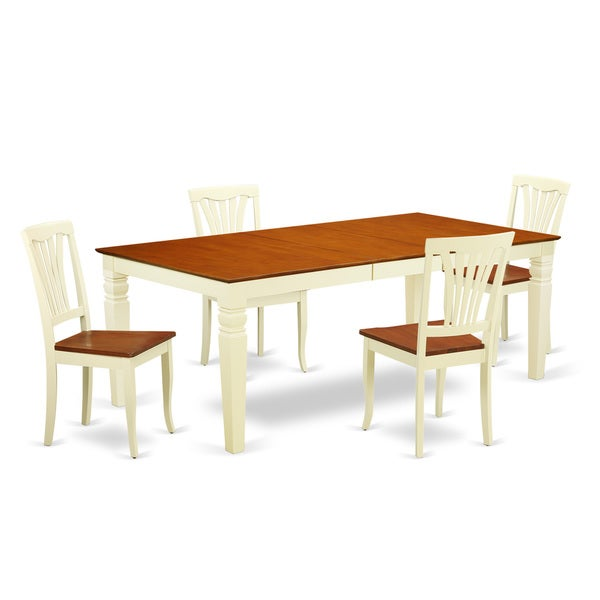 Lgav bmk w 5 piece table and chair set with one logan for 10 piece kitchen table set