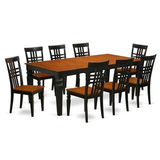 LGLG9-W 9 Piece Table and Chair Set