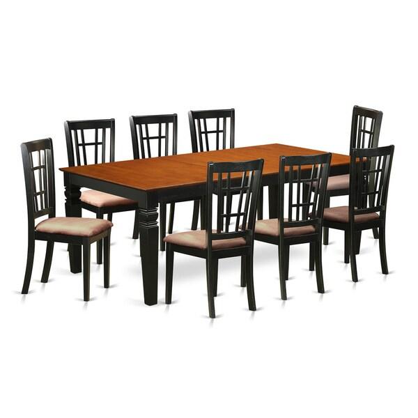 Shop LGNI9-BCH 9-piece Kitchen Table Set