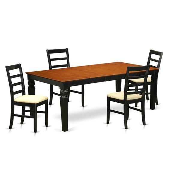 LGPF5 BCH 5 PC Dinette Table Set With One Logan Dining Table And 4 Dining