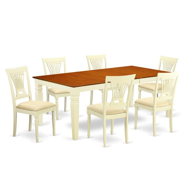 Free Kitchen Table And Chairs: Shop LGPL7-BMK 7-piece Kitchen Table And Chair Set