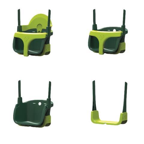 TP Quad Pod 4 in 1 Swing Seat - 14in L x 9in W x 11in H