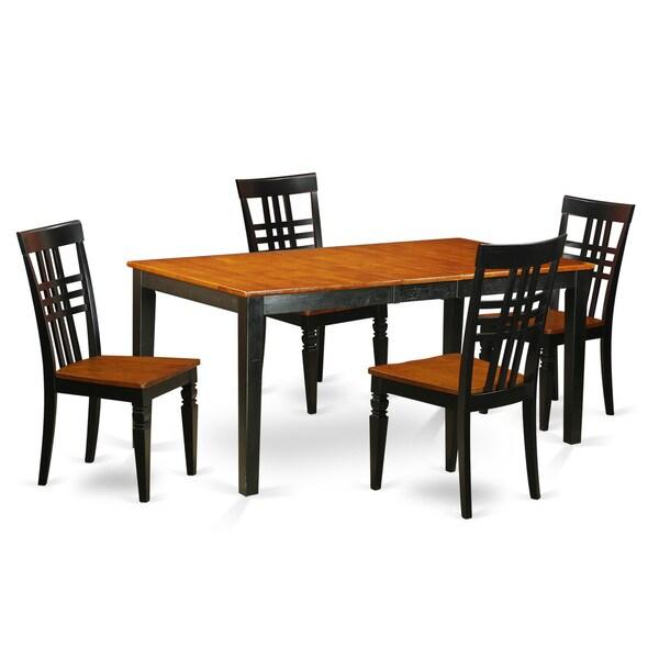 NILG5-W 5 PC Kitchen Table Set