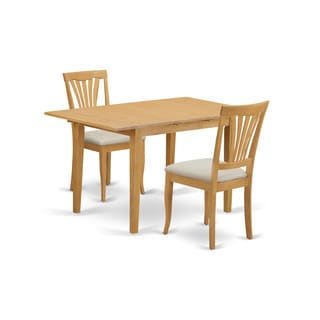 3-Piece Small Kitchen Table Set