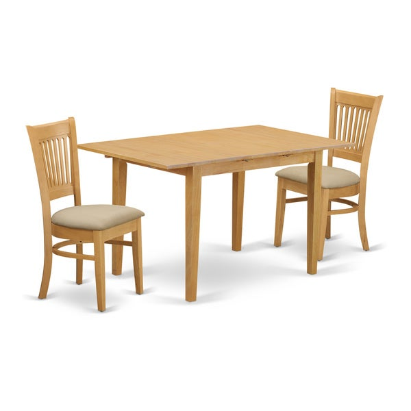 Dining Room Furniture Product: Shop NOVA3-OAK 3-Piece Dining Room Set