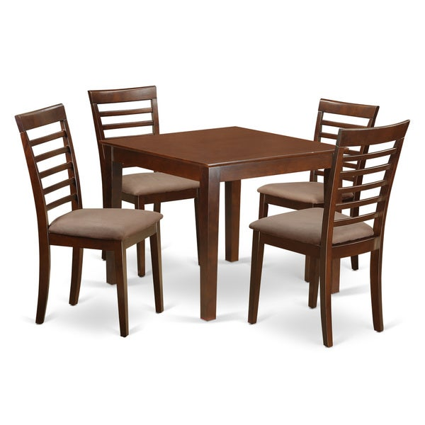 Shop OXML5-MAH-C 5-Piece Dinette Table Set With One Oxford