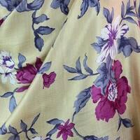 Handmade Rayon Silk 'Kashmir Garden' Shawl (India)