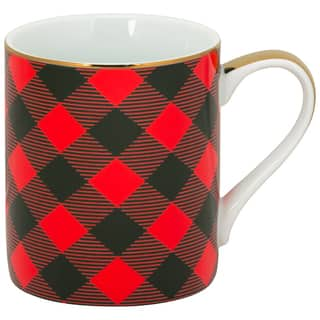 10 Strawberry Street Buffalo Red Porcelain Plaid Mugs (Pack of 6) https://ak1.ostkcdn.com/images/products/14366678/P20941183.jpg?impolicy=medium