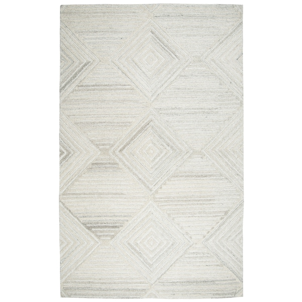 Hand-Tufted Suffolk Ivory 100-percent WOOL Area Rug (8' x 10')
