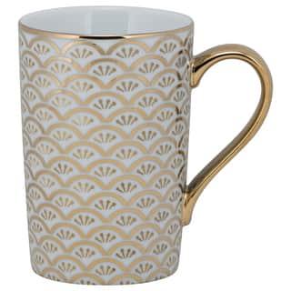 10 Strawberry Street Ocean Madi Gold Porcelain Mug (Pack of 6) https://ak1.ostkcdn.com/images/products/14366766/P20941266.jpg?impolicy=medium