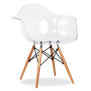 Clear Eiffel Arm Chair