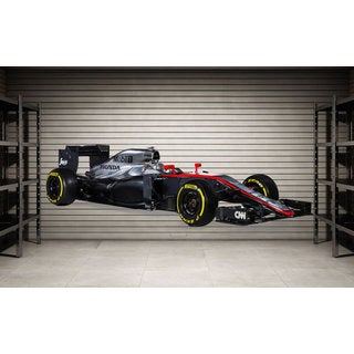 Full Color Formula 1 Full Color Decal, F1 Full color sticker, wall art, wall Sticker Decal size 48x76