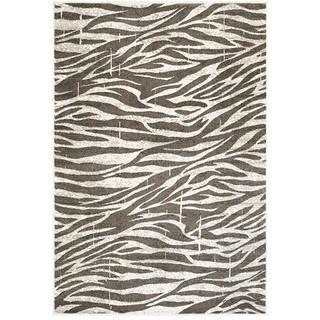 L and R Home Adana White/Beige Olefin Indoor Accent Rug (1'10 x 3'1)