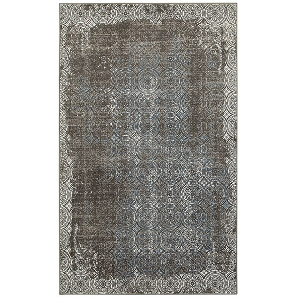 L and R Home Adana Brown/White Indoor Accent Rug (1'10 x 3'1)