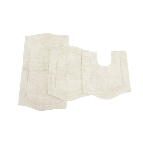 Waterford 3-peice Bath Rug set with Contour
