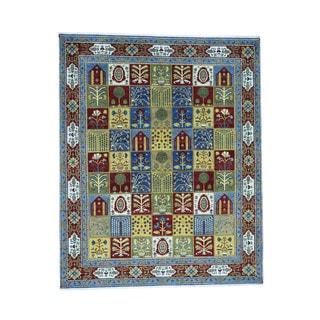 1800getarug Garden Design Vegetable Dyes Colorful Handmade Rug (8'3x10'1)