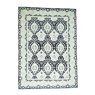 1800getarug Hand-knotted Peshawar with Moughal Design Oriental Rug (10'0 x 13'8)