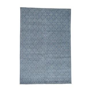 1800getarug Handmade Turkish Knot Oushak Cropped Thin Pure Wool Rug (6'0x8'10)