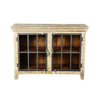 French Rustic Monastery Antique Sideboard