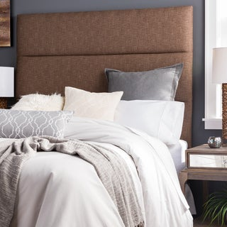 Humble + Haute Hereford Dark Chocolate Upholstered Headboard