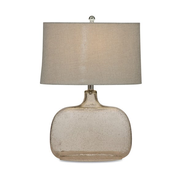 Portman 24-inch Clear Glass Table Lamp