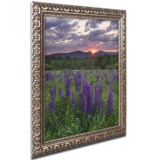 Michael Blanchette Photography 'Moody Sunrise' Ornate Framed Art