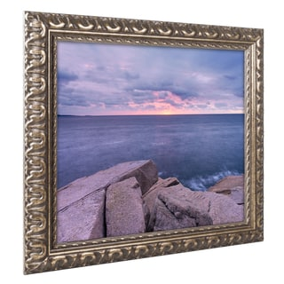 Michael Blanchette Photography 'Earth Water Sky' Ornate Framed Art