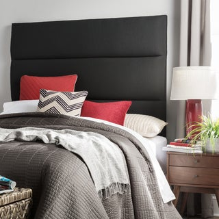Humble + Haute Hereford King Size Black Upholstered Headboard