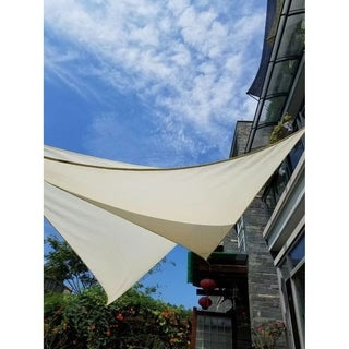 MCombo Sun Shade Sail Outdoor UV Top Cover Patio Lawn Multiple Shape Block Canopy 6055-1616CW