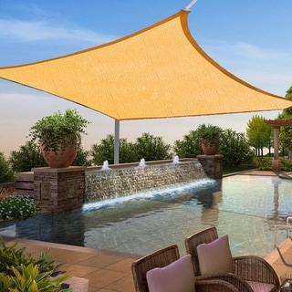 MCombo Sun Shade Sail Outdoor UV Top Cover Patio Lawn Multiple Shape Block Canopy 6055-1212Y