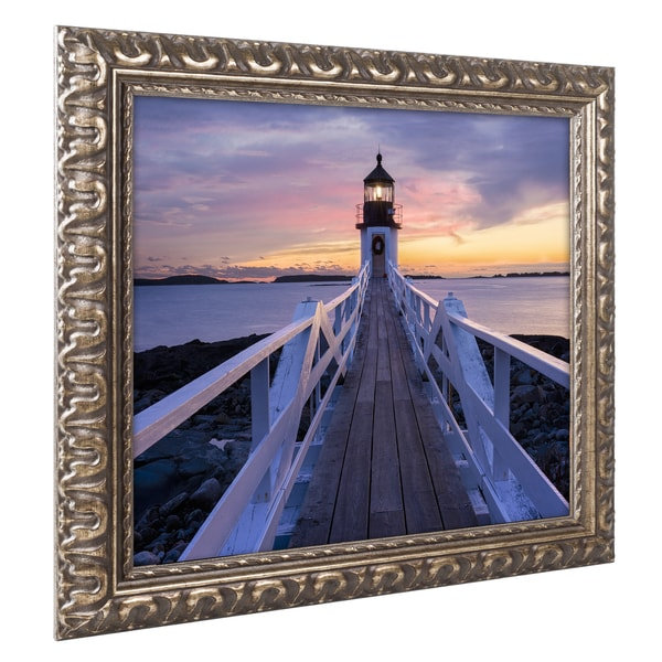Michael Blanchette Photography 'December Hues' Ornate Framed Art