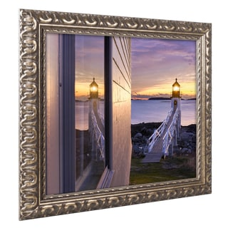 Michael Blanchette Photography 'Looking Glass' Ornate Framed Art