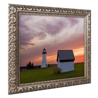 Michael Blanchette Photography 'Guidepost' Ornate Framed Art